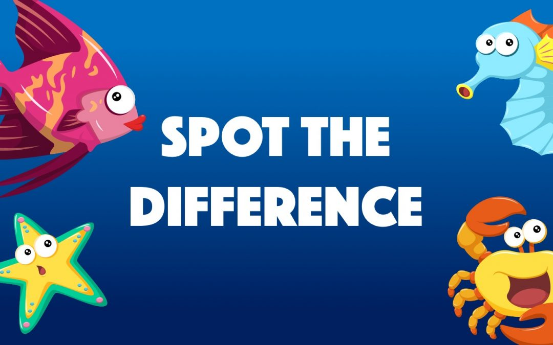 Under the Sea – Spot the Difference.