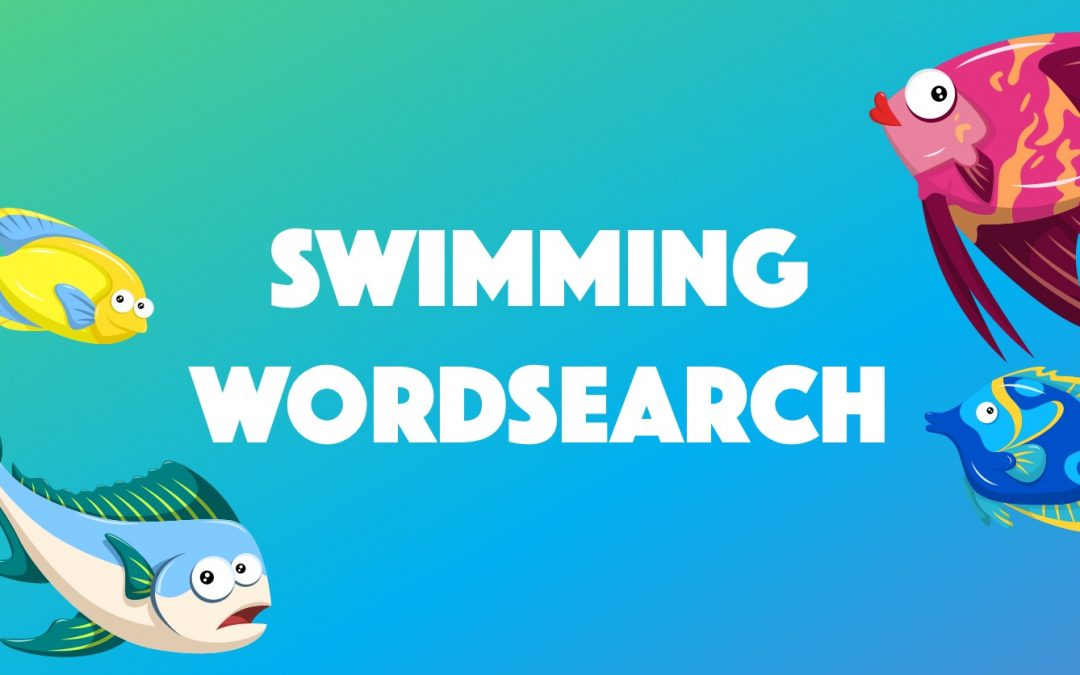 Swimming Wordsearch